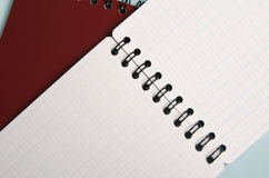 Spiral notepad Royalty Free Stock Images