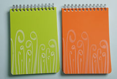 Spiral notepad Stock Images