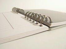 Spiral Notes Stock Photography