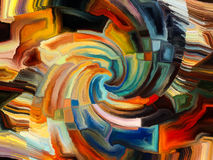 Spiral Paint Stock Images