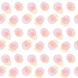 Spiral pale color  pattern Stock Photos