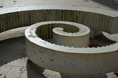 The Spiral. In the park Stock Images