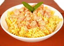 Spiral pasta Royalty Free Stock Image
