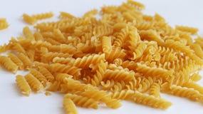 Spiral pasta för spill Arkivfoton