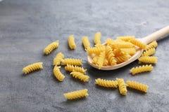 Spiral pasta Stock Photos