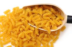 Spiral pasta Royalty Free Stock Photos