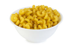 Spiral pasta in small bowl Stock Photography