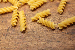 Spiral pasta Stock Photography