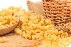 Spiral pasta Stock Photo