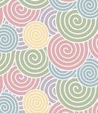 Spiral pattern Stock Image