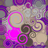Spiral. Pattern or background with swirls Stock Photo