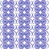 Spiral patterns background Stock Images