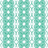 Spiral patterns background. An illustrations of a simple spiral patterns background Royalty Free Stock Images