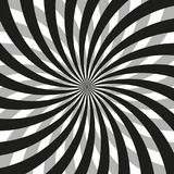 Spiral Patterns in black and white vector illustration