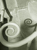 Spiral Railing Stock Photography