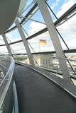 The Reichstag Dome Stock Photography