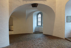 Spiral ramp within Round Tower, Copenhagen Royalty Free Stock Photography
