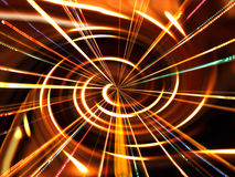 Spiral Rays Royalty Free Stock Photo