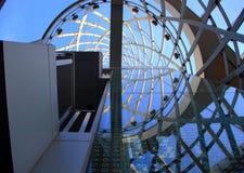 Spiral reflexion Royaltyfri Bild