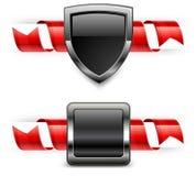 Spiral ribbon & coat Stock Image