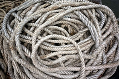 Spiral rope ship Stock Photos