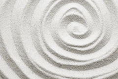 Spiral in the sand. Background Royalty Free Stock Photos