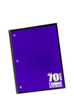 Spiral School notebook Stock Photo