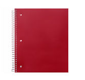 Spiral School Paper Notebook Stock Photo