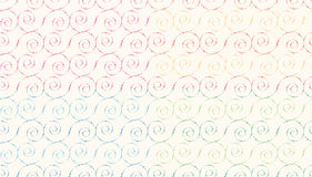 Spiral Seamless abstract  pattern Royalty Free Stock Image