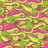 Spiral seamless background. Bright seamless  background with colored spirals Vector Illustration