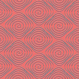 Spiral seamless background Royalty Free Stock Photography