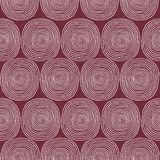 Spiral seamless pattern Royalty Free Stock Photo