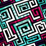 Spiral seamless pattern Royalty Free Stock Images