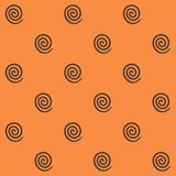Spiral seamless pattern Royalty Free Stock Photos