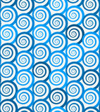 Spiral seamless pattern Stock Image