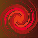 Spiral shape in  Royalty Free Stock Photography