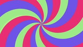 Spiral shape rainbow colors seamless loop rotation animation background new quality universal motion dynamic animated. Spiral shape colors seamless loop rotation stock footage