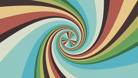 Spiral shape rainbow colors seamless loop rotation animation background new quality universal motion dynamic animated. Spiral shape colors seamless loop rotation stock video footage