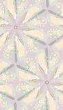 Spiral Shape and Stars stock illustration