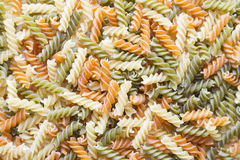 Spiral shaped pasta Royalty Free Stock Photography