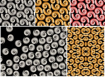 Spiral Shells Backgrounds Stock Photos