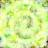 Spiral shining blur bokeh background. Stock Photo