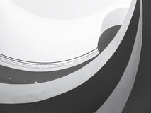 Spiral Slope  modern style Architecture detail Stock Photos