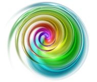 Spiral spectral Royalty Free Stock Photos