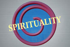 Spiral and Spirituality Stock Images