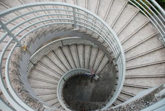 Spiral stair Royalty Free Stock Images