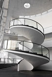Spiral Stair. Near the train station in nuremberg, germany Stock Photography