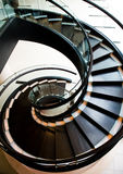 Spiral stair case Stock Image
