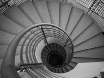 Spiral stair Stock Images
