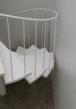 Spiral stair detail Royalty Free Stock Image